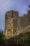 Traditioneller Norman English Castle in Lewes, Sussex Lizenzfreie Stockfotografie