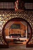 Traditioneller Raum von China. lizenzfreie stockfotografie