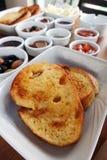 Traditioneller Rich Turkish Breakfast Stockfoto