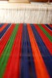Traditioneller rumänischer Teppich Stockfoto