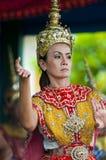 Traditioneller siamesischer Tänzer Lizenzfreie Stockfotos