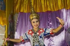 Traditioneller siamesischer Tanz Lizenzfreies Stockbild