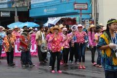 Traditioneller siamesischer Tanz Stockfoto