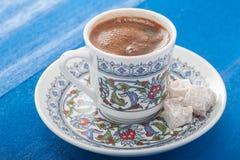 Traditioneller türkischer Kaffee Stockbild