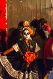 Traditioneller Tag des toten Kostüms Lizenzfreies Stockfoto