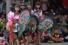 Traditioneller Tanz Indonesiens Lizenzfreies Stockbild