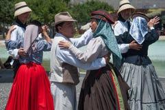Traditioneller Tanz, Teneriffa, Spanien Stockfotos