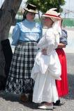 Traditioneller Tanz, Teneriffa, Spanien Lizenzfreie Stockfotos
