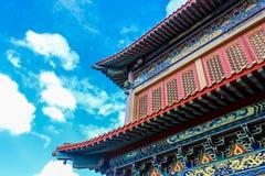 Traditioneller Tempel der chinesischen Art bei Wat Leng-Noei-Yi in Nonthab Lizenzfreies Stockbild