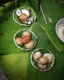 Traditioneller thailändischer Bonbon Lizenzfreie Stockfotografie