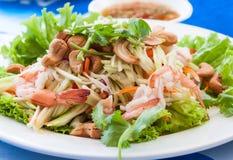 Thailändischer würziger Salat Stockfotos