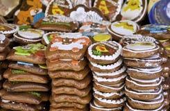 Traditioneller tschechischer Lebkuchen Lizenzfreie Stockfotos