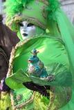 Traditioneller venetianischer Karneval 2011. Stockfoto