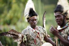 Traditioneller Volkstanz von Afrika stockbild