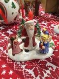 Traditioneller Weihnachtsmarkt Stockbild