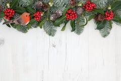 Traditioneller Winter-Rand Lizenzfreies Stockfoto