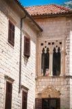 Traditionelles adriatisches Haus Lizenzfreies Stockbild