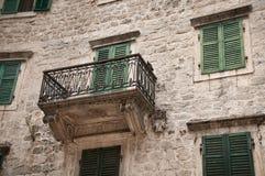 Traditionelles adriatisches Haus Lizenzfreies Stockfoto