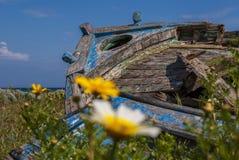 Traditionelles altes Boot Lizenzfreie Stockfotos