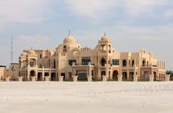 Traditionelles arabisches Art-Landhaus stockbilder