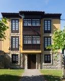 Traditionelles asturisches Wohnhaus Lizenzfreie Stockbilder