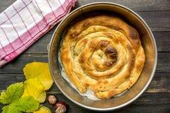 Traditionelles Balkan-Lebensmittel stockbild