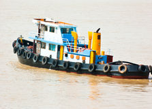 Traditionelles Boot Stockbild