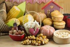 Traditionelles brasilianisches Lebensmittel stockfoto