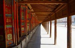 Traditionelles Buddhismusbeschwörungsformelrad Lizenzfreie Stockfotos