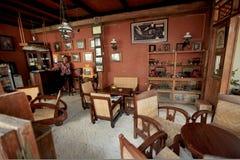 Traditionelles Café Stockbild