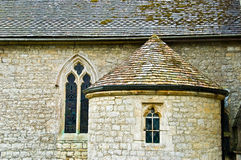 Traditionelles christliche Kirche-Gebäude Lizenzfreies Stockfoto