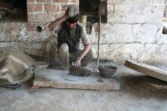 Traditionelles crafstmanship im indischen Dorf Lizenzfreies Stockbild