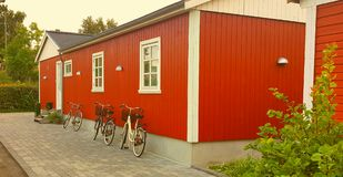 Traditionelles dänisches Haus Lizenzfreies Stockbild