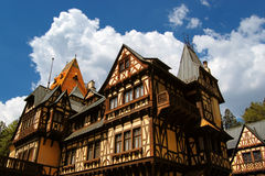 Traditionelles deutsches Haus Lizenzfreie Stockfotografie