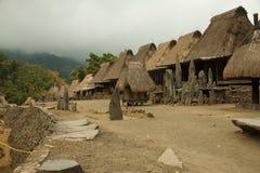 Traditionelles Dorf, Indonesien lizenzfreies stockbild