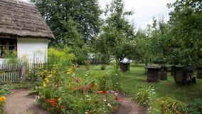 Traditionelles Dorf in Polen Lizenzfreie Stockfotografie