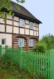 Traditionelles Dorfhaus vom 18. Jahrhundert Lizenzfreies Stockbild