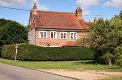 Traditionelles englisches Dorf-Haus Stockfoto