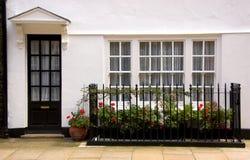 Traditionelles englisches Haus Lizenzfreies Stockbild