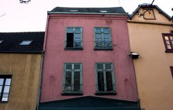 Traditionelles europäisches Architekturdetail lizenzfreie stockbilder