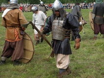 Traditionelles Festival der alten Kultur der Slawen Stockbilder