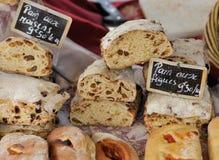 Traditionelles französisches Brot von Provence Lizenzfreies Stockfoto