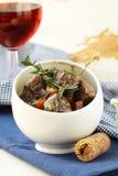 Traditionelles französisches Rindfleisch goula lizenzfreies stockfoto