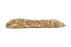 Traditionelles ganzes Brot lokalisiert auf Weiß Stockfoto