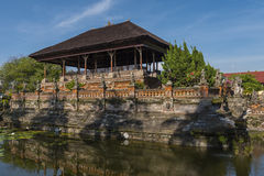 Traditionelles Gebäude in den Königshöfen von Gerechtigkeit Compound Stockfoto