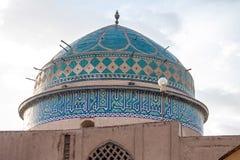 traditionelles Gebäude des luftgetrockneten Ziegelsteines in Yazd Lizenzfreies Stockbild
