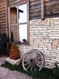 Traditionelles Gebirgshaus in Albanien Lizenzfreies Stockbild