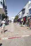 Traditionelles Gebäude in Tunis Lizenzfreie Stockfotografie