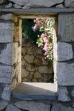 Traditionelles Griechenland-Fenster Stockbilder