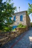 Traditionelles griechisches housein Griechenland Stockfotos